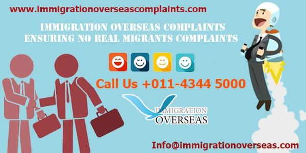 Immigration overseas complaints 4 cv