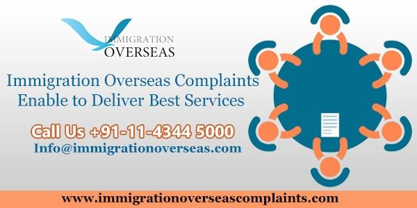 Immigration overseas complaints 3 cv