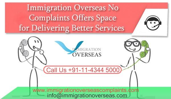 Immigration overseas complaints 2 cv