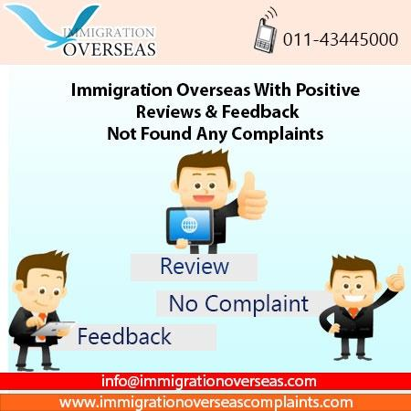 Immigration overseas complaints 7 cv