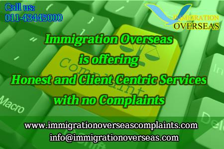 Immigration overseas complaints 8 cv