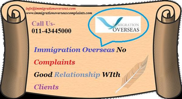 Immigration overseas complaints 11 cv