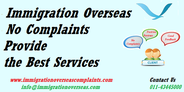 Immigration overseas complaints 14 cv
