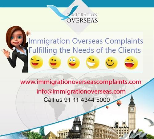 Immigration overseas complaints 15 cv