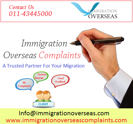 Immigration overseas complaints 16 cv