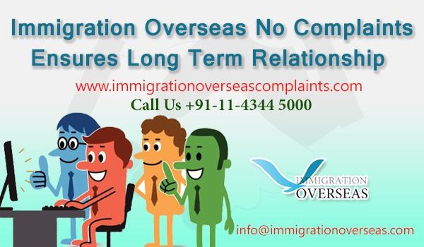 Immigration overseas complaints 18 cv