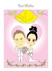 Pink wedding cv