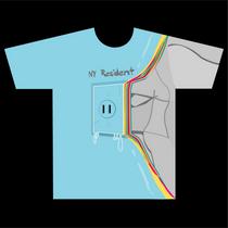 T shirt2. ny resident cv