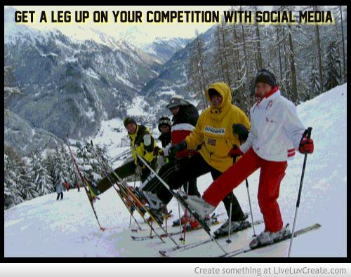 Get a leg up with social media 614095 cv