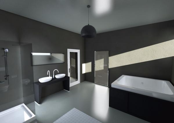 Bedroom interior 3 cv