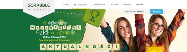 Scrabble cv cv