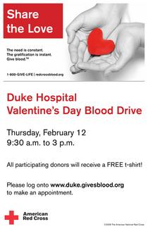 Duke hospital valentine2009 cv