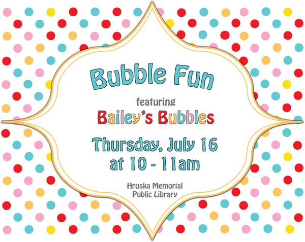 Bubble fun day cv