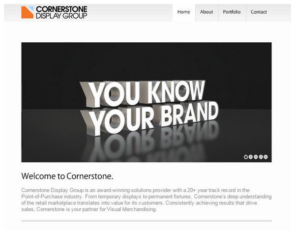 Cornerstonedisplaygroup cv