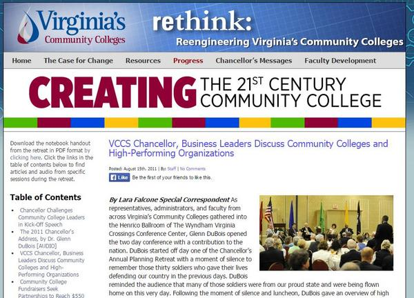 Rethink cv