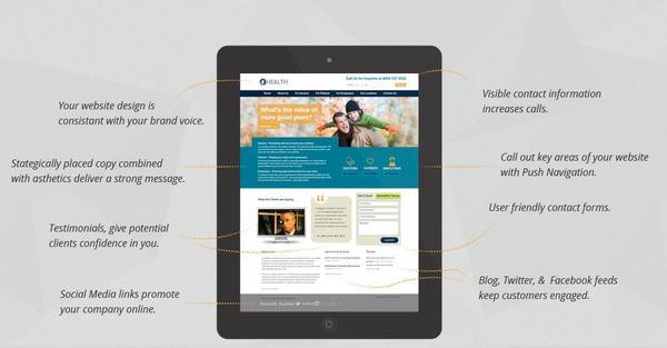Web design blog cv