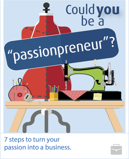 Could you be a passionpreneur  cv