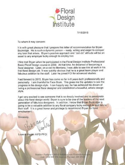 Letter of rec pdf cv