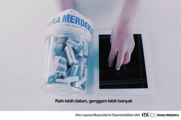 Print ad suara merdeka   raih genggam cv