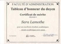 Certificat de merite 2002 cv