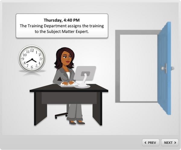 Training message intro cv