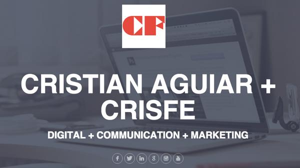 Crisfe cristian aguiar alaireweb cv