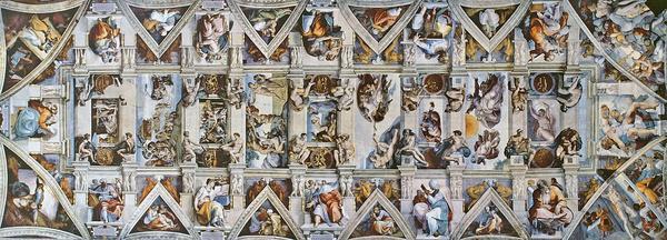 1050px cappella sistina ceiling cv