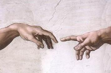 Michelangelo hands cv