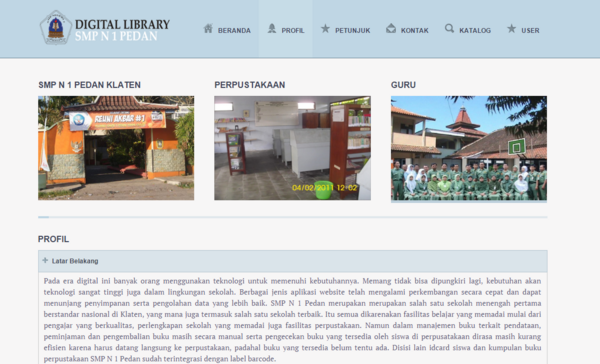 Library cv