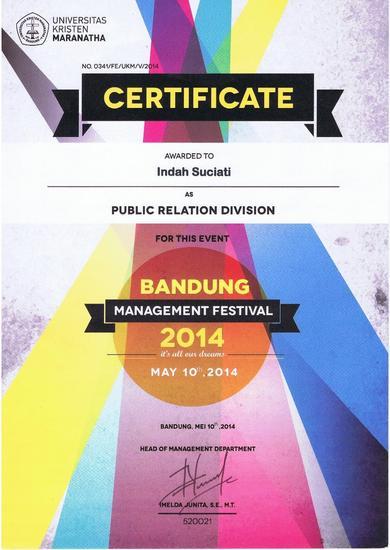 Certiticate   bmf 2014 cv