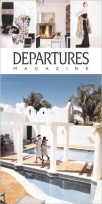 Departures sign cv