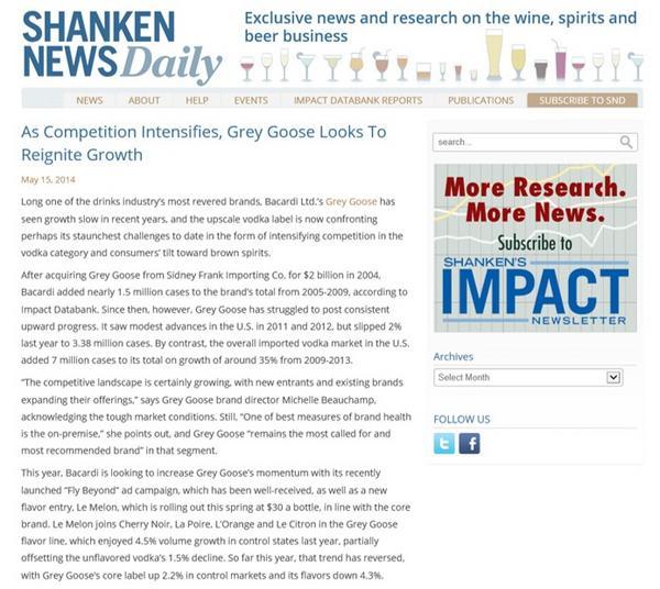 Shanken news daily cv