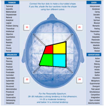 Personality spectrum scoring grid cv