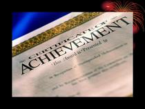 Achievements cv