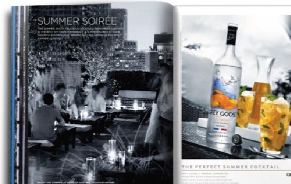 Summer soiree spread cv