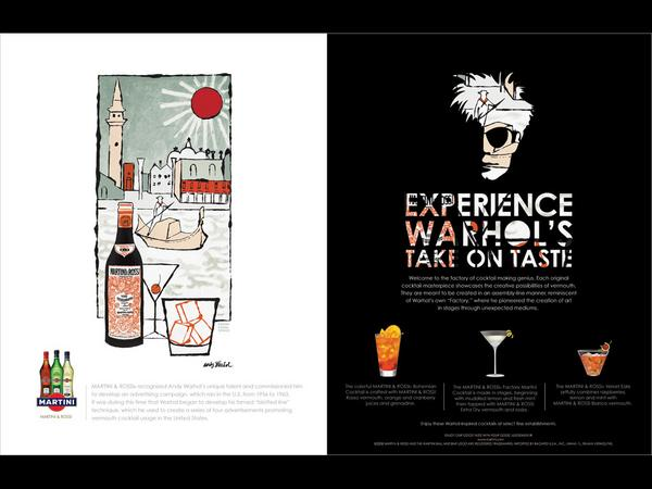 Warhols take on taste cv