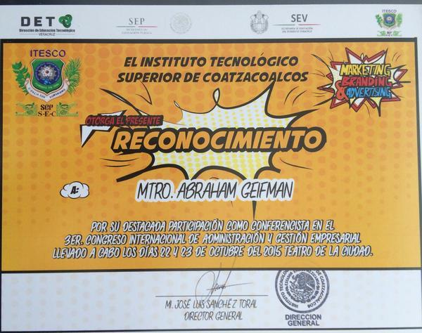 Diploma coatzacoalcos cv