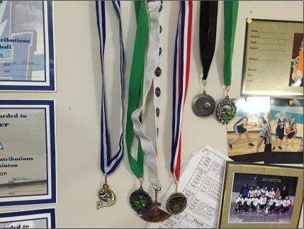 Medals wall cv