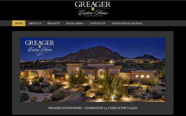 Greager custom homes cv