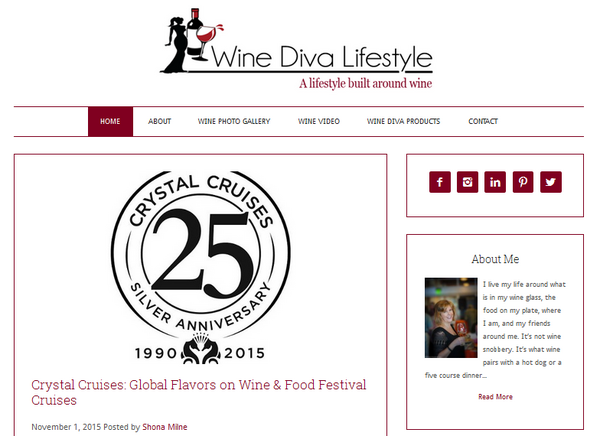 Wine diva lifestyle cv