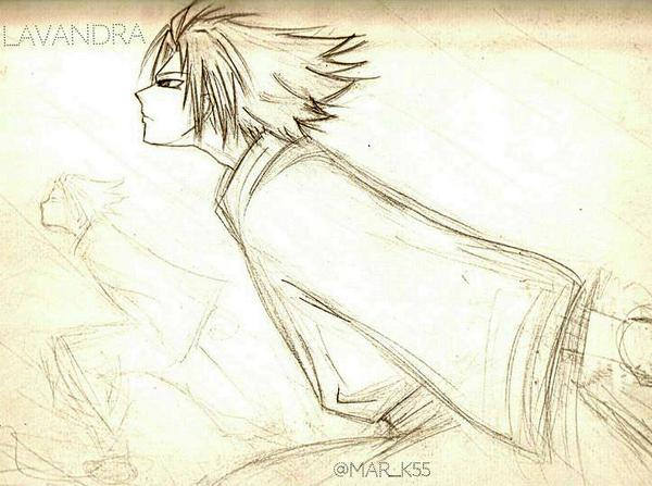 Fan art  sasuke by oolavandraoo 2 cv