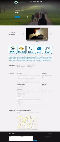 Hr website cv