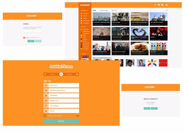 Babble u tv  desktop app  cv