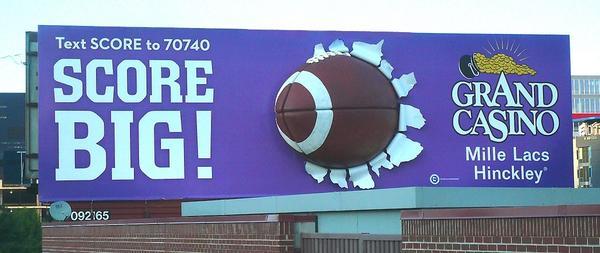 Football billboard 1200ts original cv