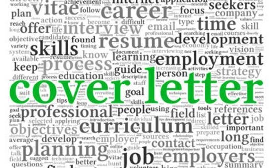 Cover letter slider thumb