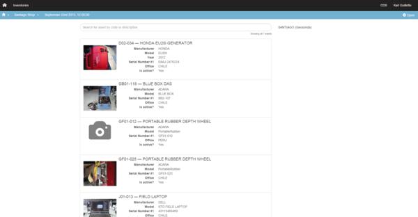 Ops inventories 4 cv