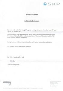 Pn 2007   service certificate cv