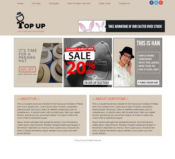 Hat website wolff vanarts cv