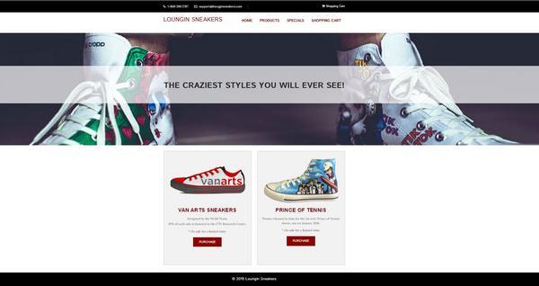 Loungin sneakers cv