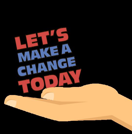 Make a change cv